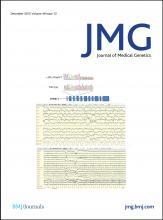 Journal of Medical Genetics: 49 (12)
