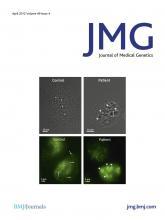 Journal of Medical Genetics: 49 (4)