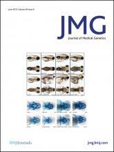 Journal of Medical Genetics: 49 (6)