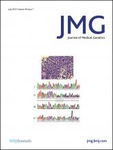 Journal of Medical Genetics: 49 (7)