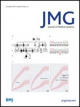 Journal of Medical Genetics: 50 (12)
