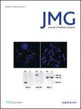 Journal of Medical Genetics: 50 (3)