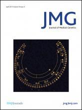 Journal of Medical Genetics: 50 (4)