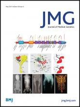 Journal of Medical Genetics: 50 (5)