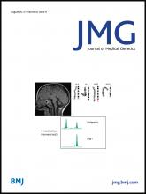 Journal of Medical Genetics: 50 (8)