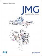 Journal of Medical Genetics: 50 (9)