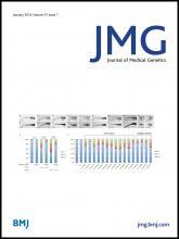 Journal of Medical Genetics: 51 (1)