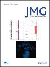 Journal of Medical Genetics: 51 (9)