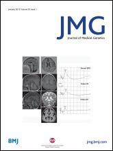 Journal of Medical Genetics: 52 (1)