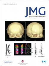 Journal of Medical Genetics: 52 (10)