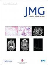 Journal of Medical Genetics: 52 (11)