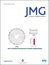 Journal of Medical Genetics: 52 (6)