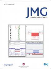 Journal of Medical Genetics: 52 (7)