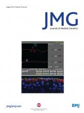 Journal of Medical Genetics: 52 (8)
