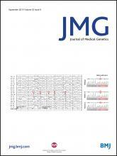 Journal of Medical Genetics: 52 (9)