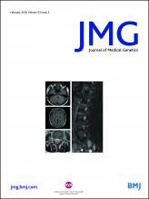 Journal of Medical Genetics: 53 (2)