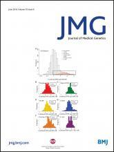 Journal of Medical Genetics: 53 (6)