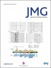 Journal of Medical Genetics: 53 (8)