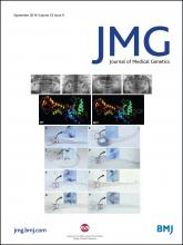 Journal of Medical Genetics: 53 (9)