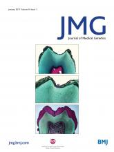 Journal of Medical Genetics: 54 (1)
