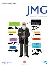 Journal of Medical Genetics: 54 (12)