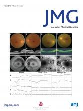 Journal of Medical Genetics: 54 (3)
