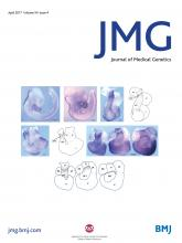 Journal of Medical Genetics: 54 (4)