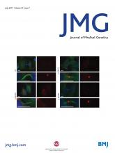 Journal of Medical Genetics: 54 (7)