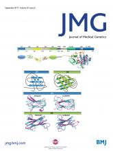 Journal of Medical Genetics: 54 (9)
