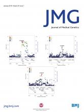 Journal of Medical Genetics: 55 (1)
