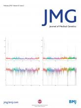Journal of Medical Genetics: 55 (2)