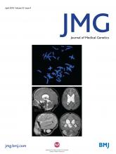 Journal of Medical Genetics: 55 (4)