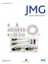 Journal of Medical Genetics: 55 (5)