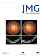 Journal of Medical Genetics: 56 (10)
