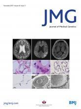 Journal of Medical Genetics: 56 (11)