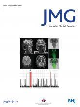 Journal of Medical Genetics: 56 (3)