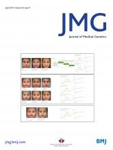 Journal of Medical Genetics: 56 (4)