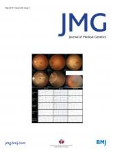 Journal of Medical Genetics: 56 (5)