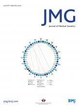 Journal of Medical Genetics: 56 (6)