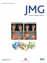 Journal of Medical Genetics: 56 (9)