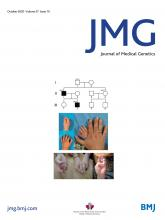 Journal of Medical Genetics: 57 (10)