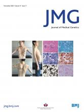 Journal of Medical Genetics: 57 (11)
