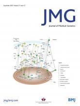 Journal of Medical Genetics: 57 (12)