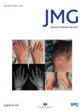 Journal of Medical Genetics: 57 (3)