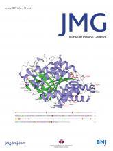 Journal of Medical Genetics: 58 (1)