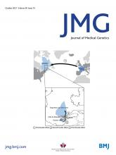 Journal of Medical Genetics: 58 (10)