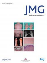 Journal of Medical Genetics: 58 (6)