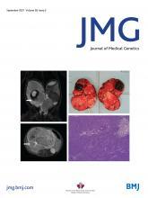 Journal of Medical Genetics: 58 (9)